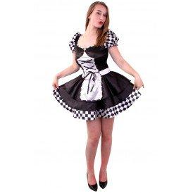 Dark Alice jurk dames
