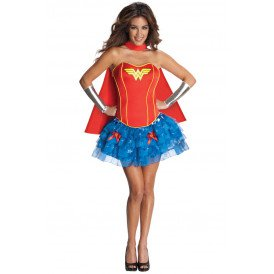 Wonder Woman Corset jurkje dames