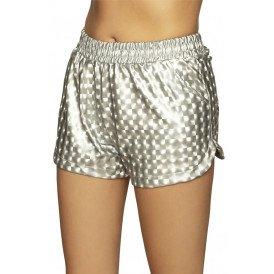 Hotpants Sporty zilver