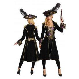 Piratenjas zwart dames