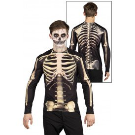 Shirt fotorealistisch Skeleton