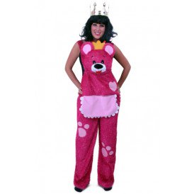Knuffelbroek teddybeer roze glitter