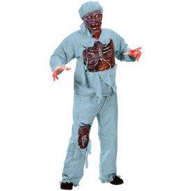 Zombie chirurg kostuum heren one size
