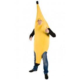 Banaan kostuum unisex one size