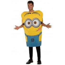 Minion Dave kostuum (licentie) unisex one size