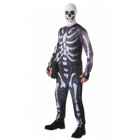 Fortnite Skull Trooper kostuum heren
