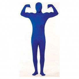 Skinny kostuum blauw