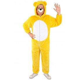 Beer kostuum geel unisex