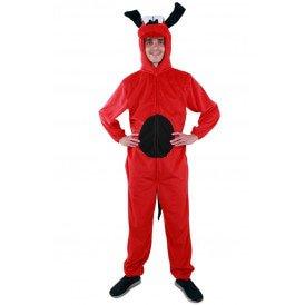 Rode hond kostuum unisex