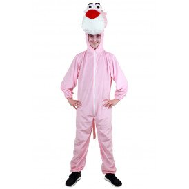 Panter roze grote kop pluche