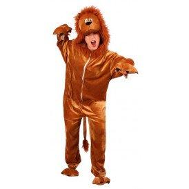 Leeuw kostuum bruin unisex