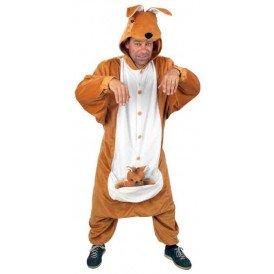 Kangoeroe kostuum unisex one size