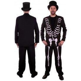 Skeleton / skelet kostuum