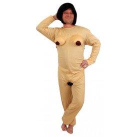 Naakt kostuum vrouw unisex