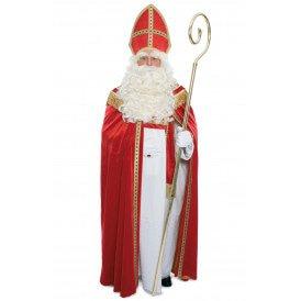 Sinterklaas kostuum poly fluweel