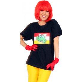 T-shirt Oeteldonk zwart unisex
