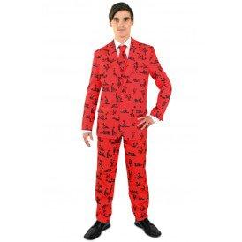 Kamasutra rood kostuum