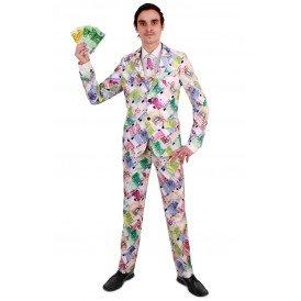 Euro kostuum 3-delig heren