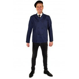 Keper jas blauw heren