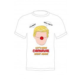 T-shirt Trump 'Let's make carnaval great again'