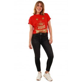 T-shirt toppers rood HB