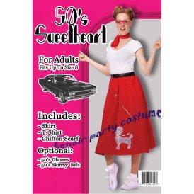 Retro jaren 50 kostuum dames