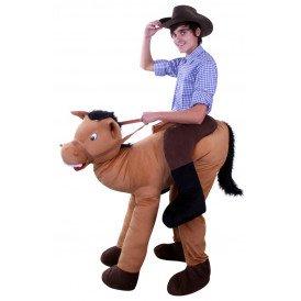 Rijdend op paard kostuum