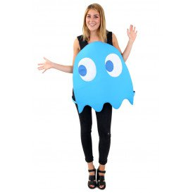Blauw spookje kostuum unisex one size