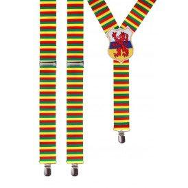 Bretels rood/geel/groen met wapen Limburg