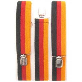Bretel zwart/rood/geel Duitsland