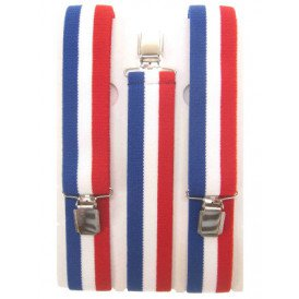 Bretel Nederland rood/wit/blauw
