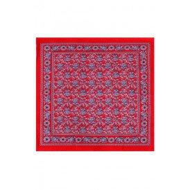 Zakdoek cashmir 63 x 63 cm 4 zijdig gezoomdzware kwaliteit