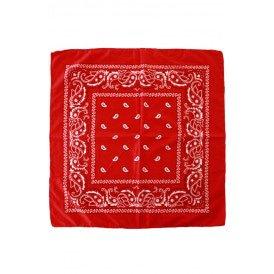 Boerenzakdoek populair rood met mot