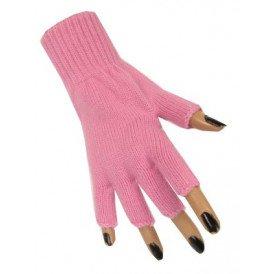 Vingerloze handschoen baby roze