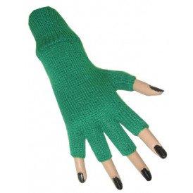 Vingerloze handschoen groen