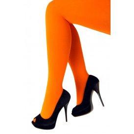 Panty 60 den microfiber fluor oranje one size