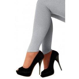Legging lurex zilver