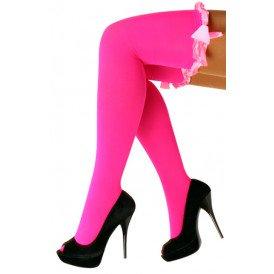Britney kousen + strik fluor pink microfibre