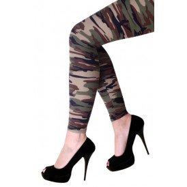 Legging camouflage volw.