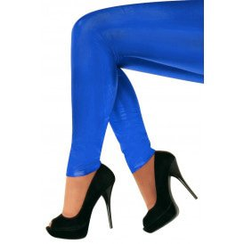 Legging 60 denier blauw