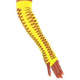Gele handschoen