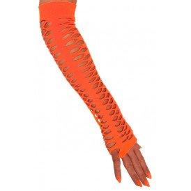 Oranje handschoen