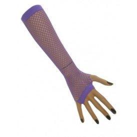 paarse handschoen