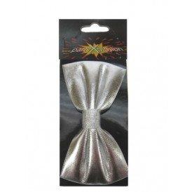 Zilveren vlinderstrik