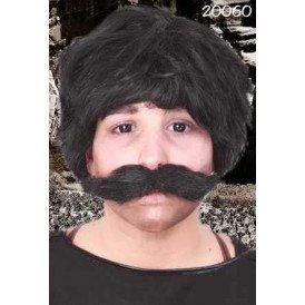 Snor Ted zwart