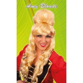 Pruik amy blond