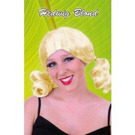 Pruik Hedwig blond