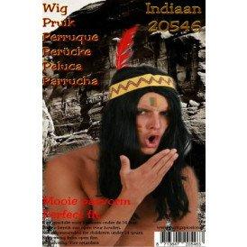 Pruik indiaan Chesmu los haar
