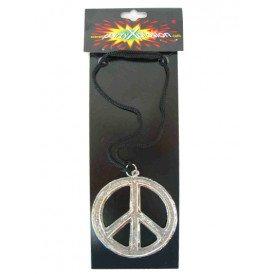 Peace ketting metaal pbh