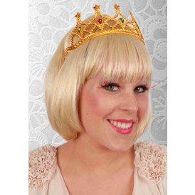 Tiara kam koningin goud